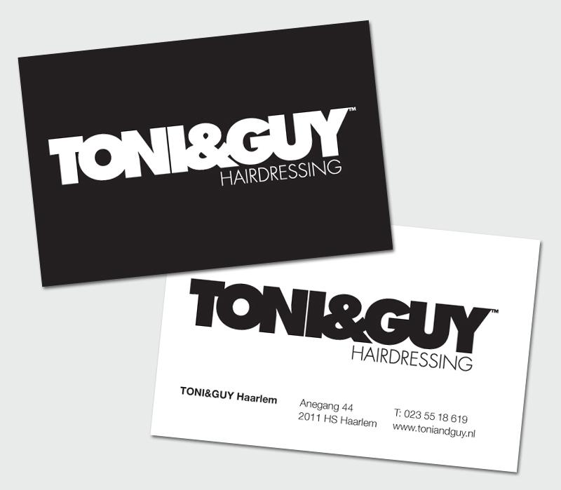 TONI&GUY various – StudioLIN   Graphic Design